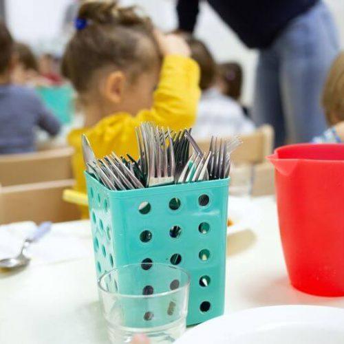 Speisen Kindergarten