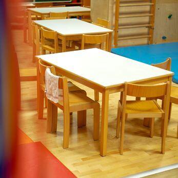 Aufenthaltsräume der Villa Kunterbunt-Gemeinnützige Kinderbetreuung