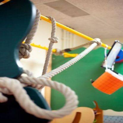 Turnen für die Kleinen. Kinderbetreuung Wien Neubau